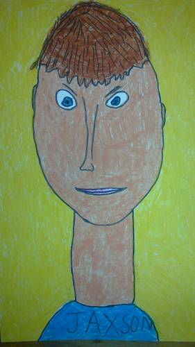 Jaxson - self portrait